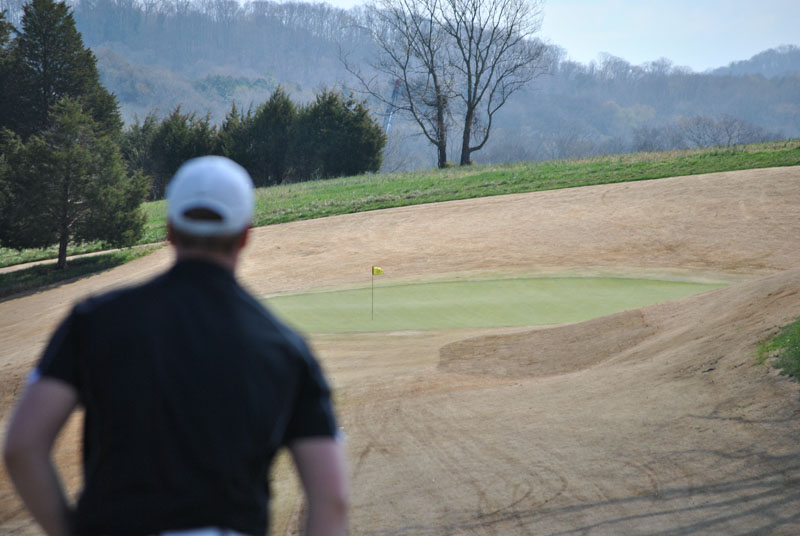 12th Men's Golf at Tennessee River Rumble Day 1 Photo