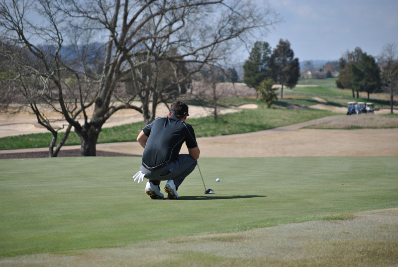 14th Men's Golf at Tennessee River Rumble Day 1 Photo