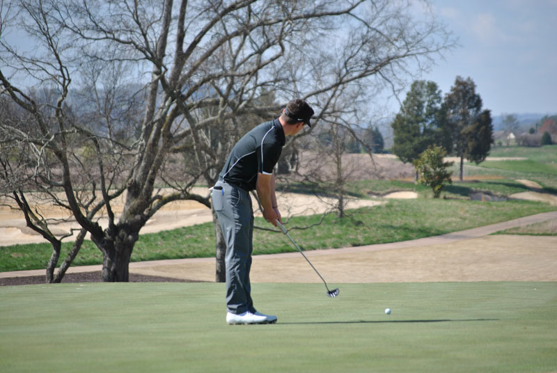 15th Men's Golf at Tennessee River Rumble Day 1 Photo