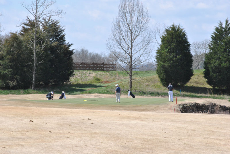 22nd Men's Golf at Tennessee River Rumble Day 1 Photo
