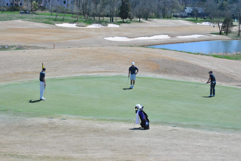 27th Men's Golf at Tennessee River Rumble Day 1 Photo
