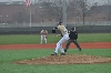6th Baseball Splits with Cougars Photo