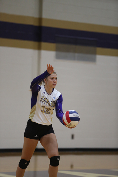 9th Volleyball Sweeps HU in Home Opener Photo