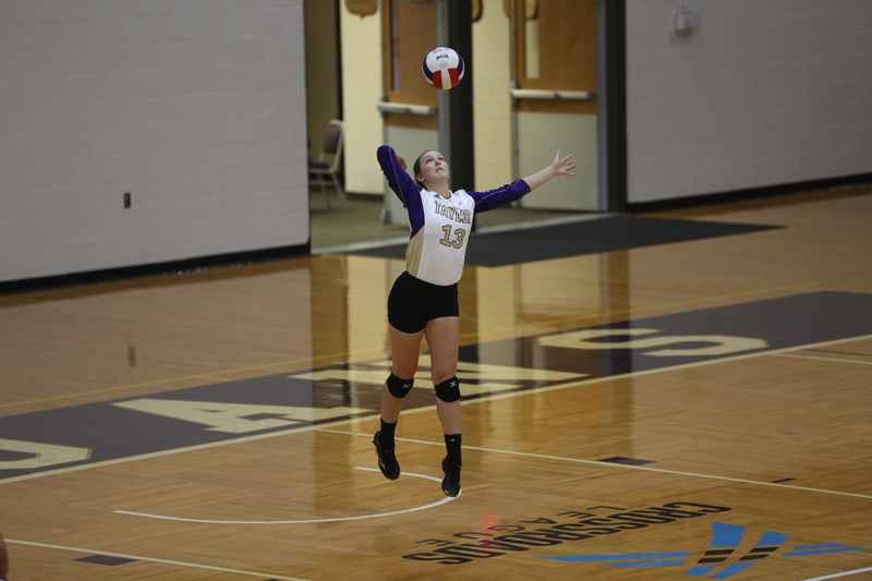 30th Volleyball Sweeps HU in Home Opener Photo