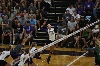 29th Volleyball Sweeps HU in Home Opener Photo