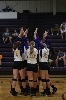32nd Volleyball Sweeps HU in Home Opener Photo
