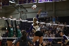 35th Volleyball Sweeps HU in Home Opener Photo