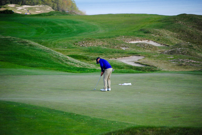 5th Men's Golf at Whistling Straits- Day Two Photo