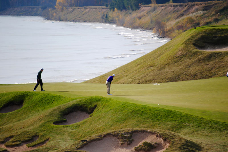 6th Men's Golf at Whistling Straits- Day Two Photo