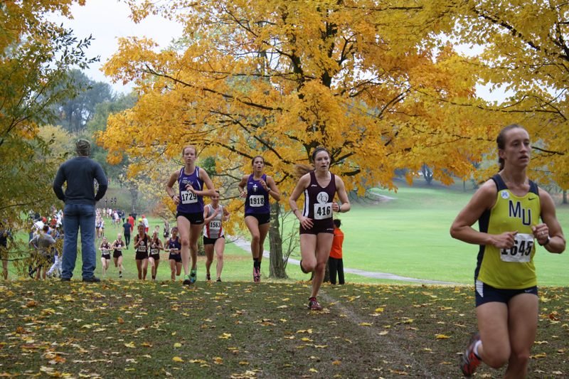 16th TU Women Take Second at Great Lakes Invite Photo
