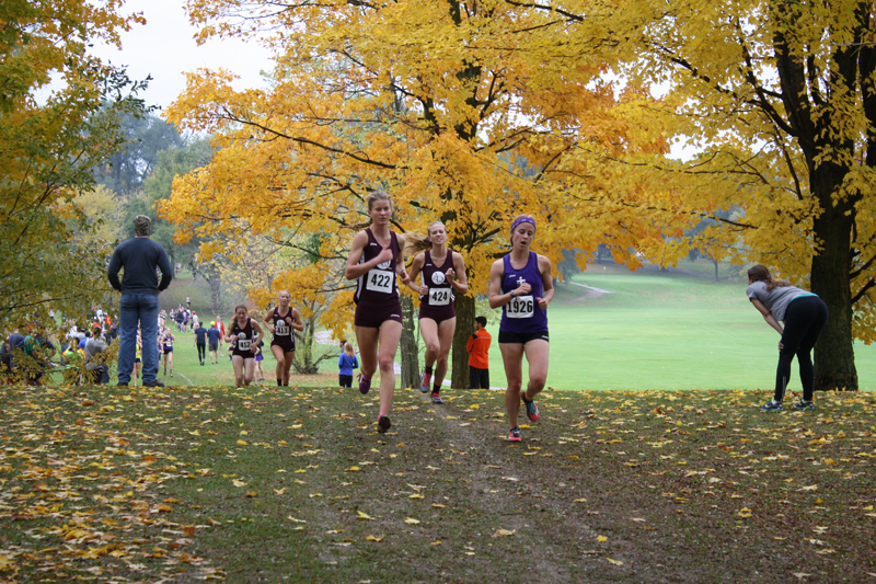 17th TU Women Take Second at Great Lakes Invite Photo