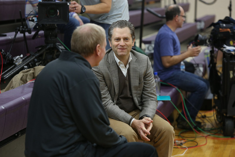 8th ESPN Films Silent Night Feature on Campus Photo