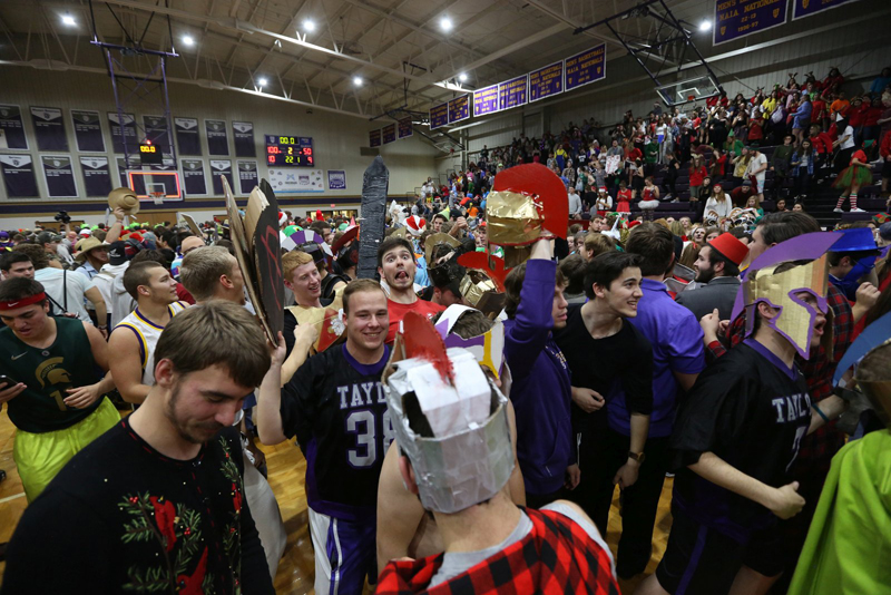 50th TU Wins on Silent Night Photo