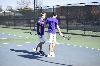 1st Men's tennis defeats Trine University Photo