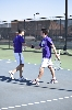 2nd Men's tennis defeats Trine University Photo