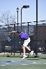 10th Men's tennis defeats Trine University Photo