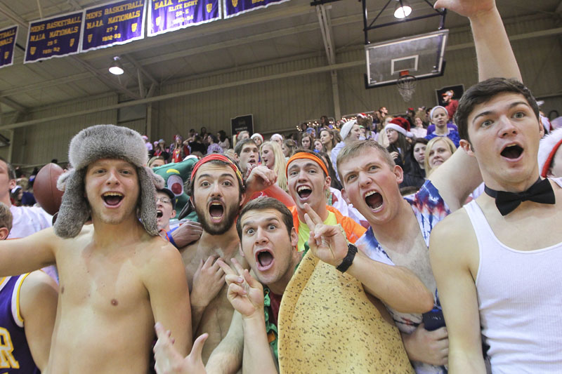 4th Men's Basketball Silent Night Photo