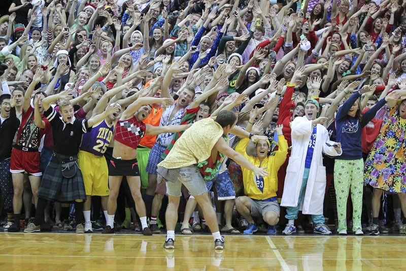 8th Men's Basketball Silent Night Photo