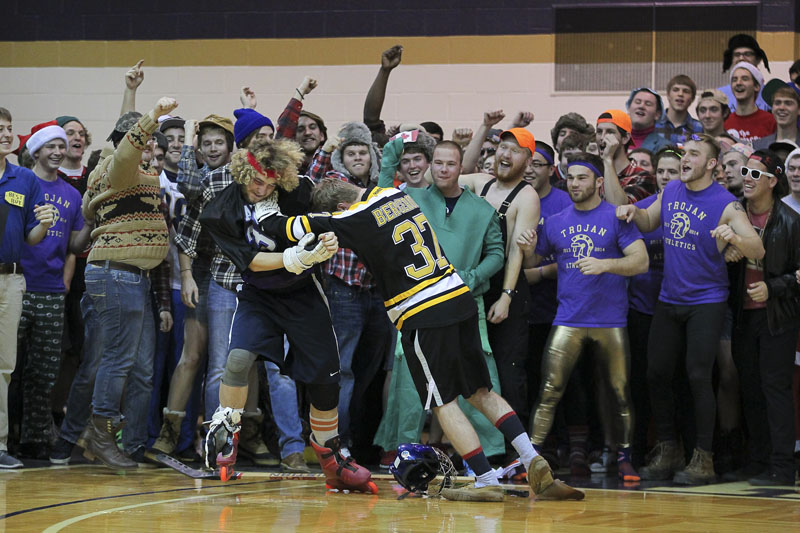 10th Men's Basketball Silent Night Photo