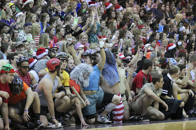 14th Men's Basketball Silent Night Photo