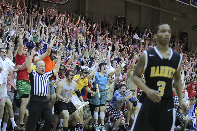 17th Men's Basketball Silent Night Photo