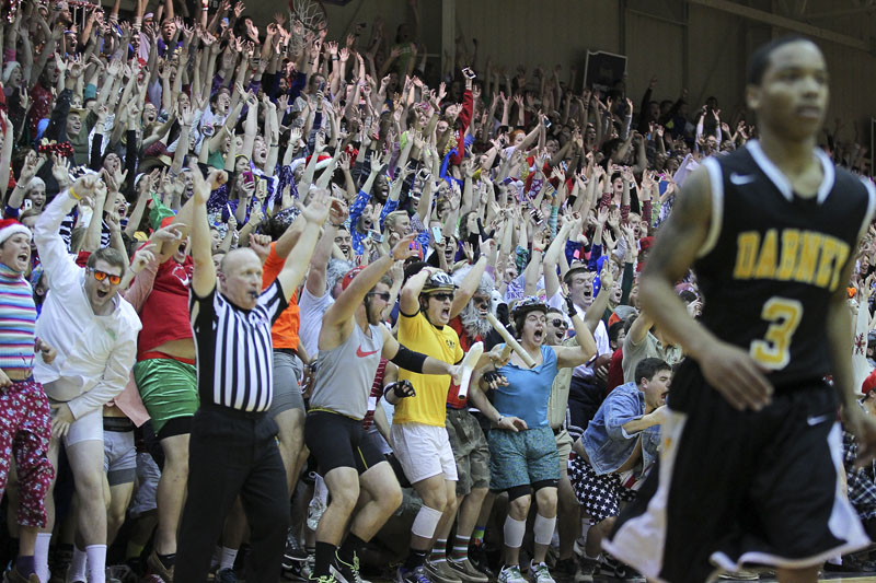 18th Men's Basketball Silent Night Photo