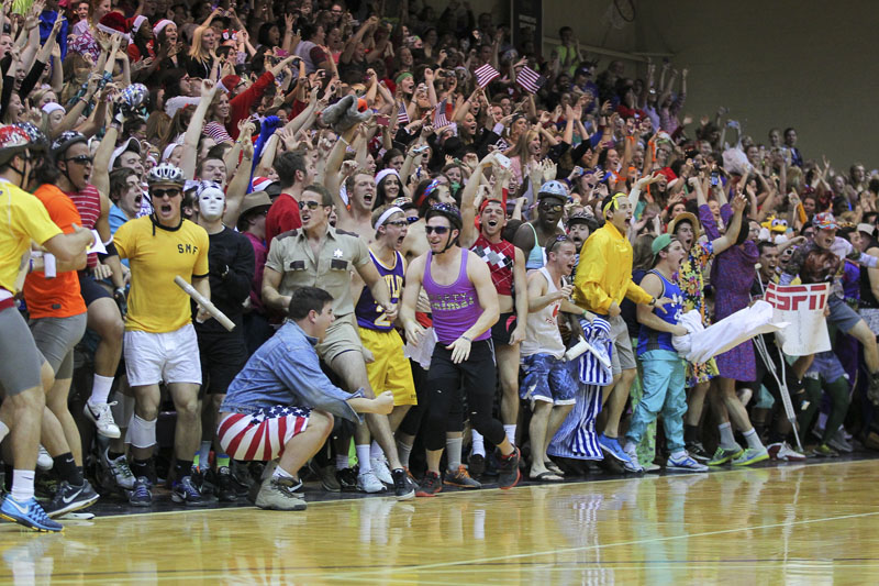 19th Men's Basketball Silent Night Photo