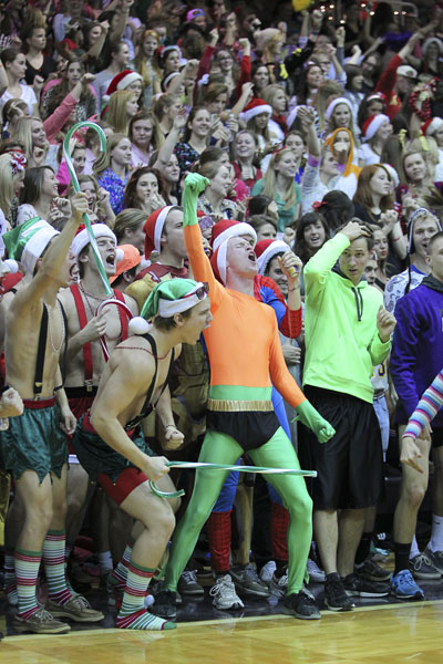 20th Men's Basketball Silent Night Photo