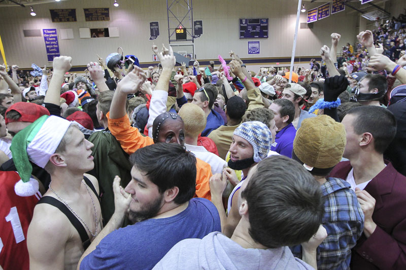 34th Men's Basketball Silent Night Photo