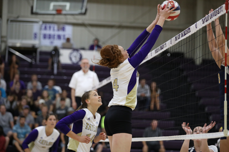 26th Trojans Sweep SAU in Luthy's Home Debut Photo
