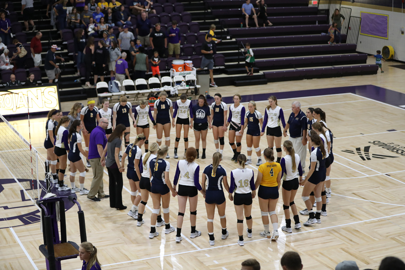 49th Trojans Sweep SAU in Luthy's Home Debut Photo