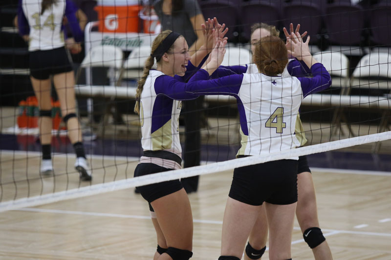 1st Volleyball vs. Indiana Wesleyan Photo