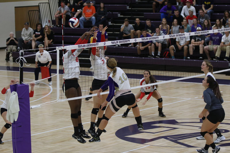 21st Volleyball vs. Indiana Wesleyan Photo