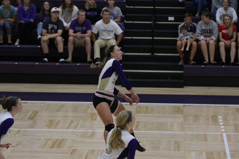 31st Volleyball vs. Indiana Wesleyan Photo