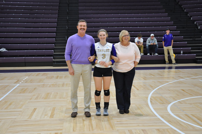 1st Volleyball Senior Night Photo