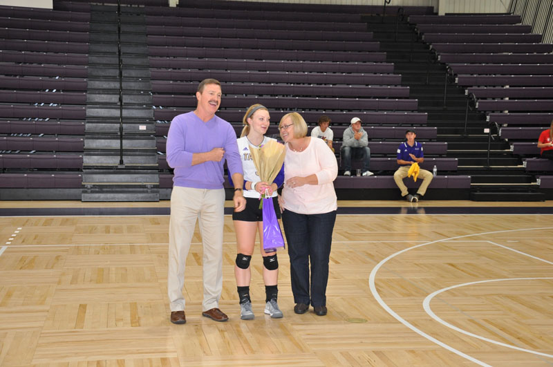 2nd Volleyball Senior Night Photo