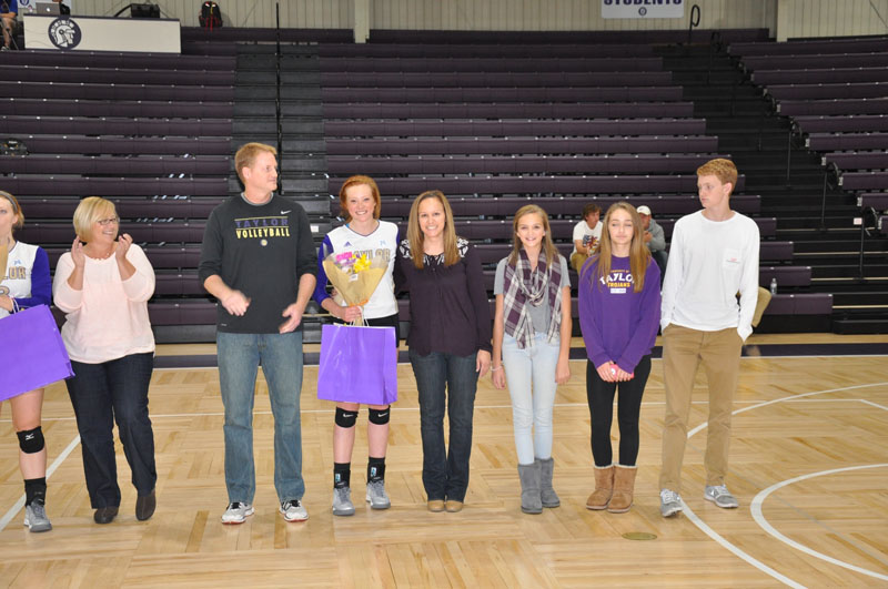 5th Volleyball Senior Night Photo
