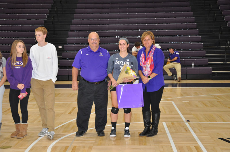 8th Volleyball Senior Night Photo