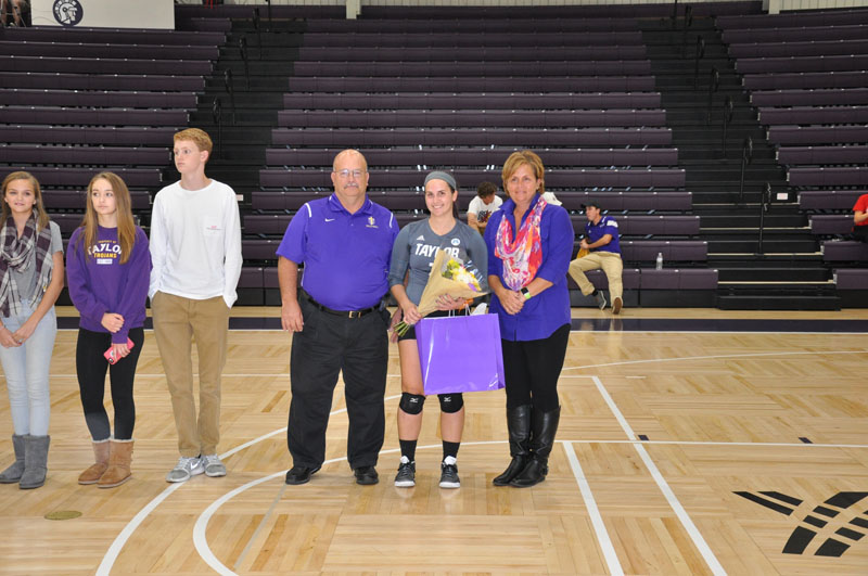 9th Volleyball Senior Night Photo