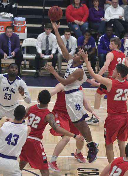 38th IWU Edges Past Trojans in Odle Photo
