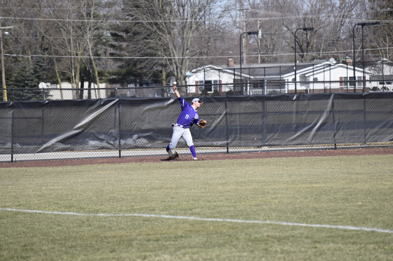 7th TU Baseball Takes Series With IUSB Photo