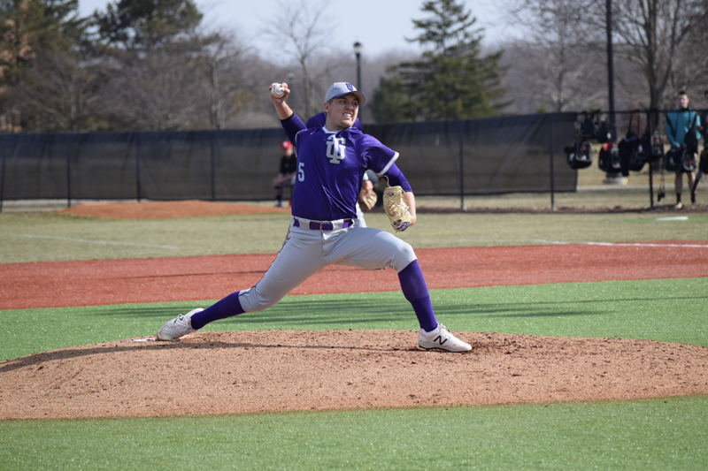 20th TU Baseball Takes Series With IUSB Photo