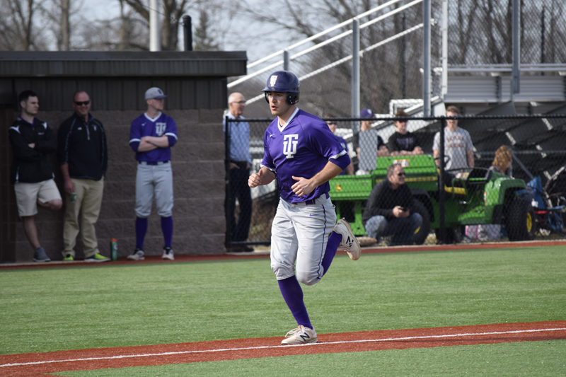 33rd TU Baseball Takes Series With IUSB Photo