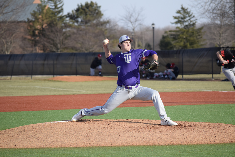 37th TU Baseball Takes Series With IUSB Photo