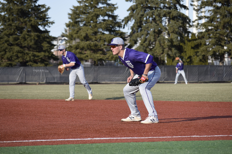 41st TU Baseball Takes Series With IUSB Photo