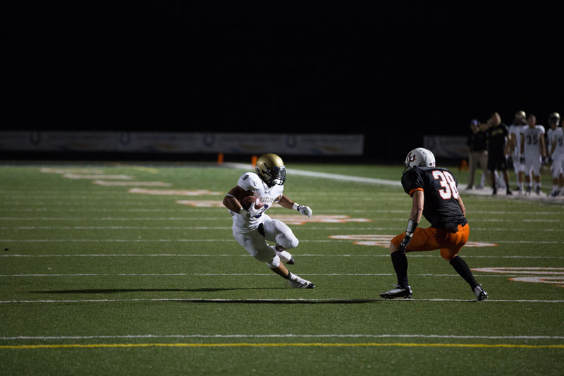 16th Football Blasts Anderson Photo