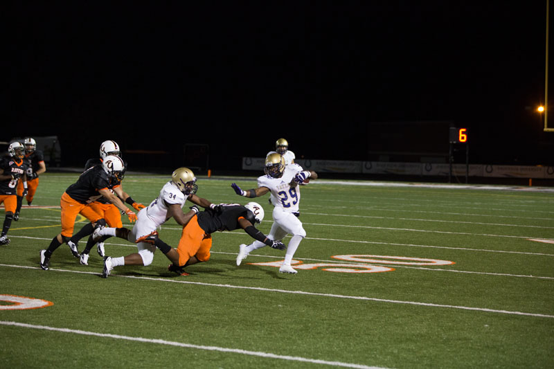 21st Football Blasts Anderson Photo