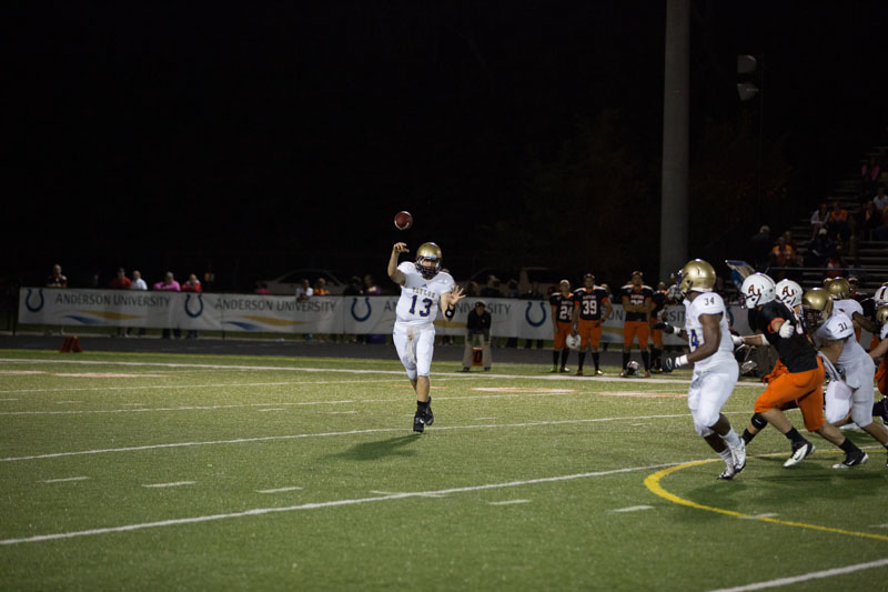 24th Football Blasts Anderson Photo