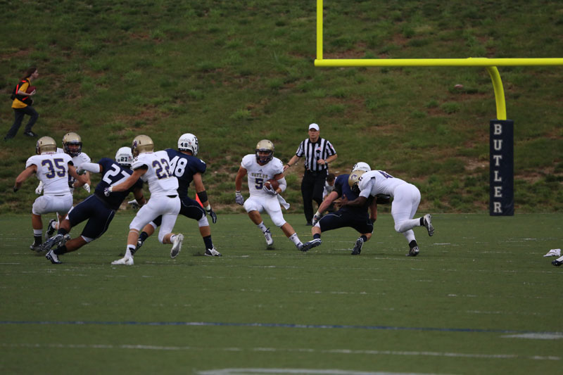 11th Football Plays at Butler Photo