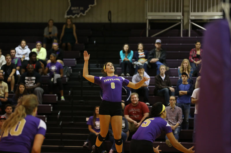 15th Volleyball Sweeps IWU Photo